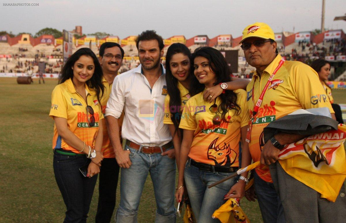 Sohail Khan at Mumbai Heroes CCL match on 26th Jan 2015
