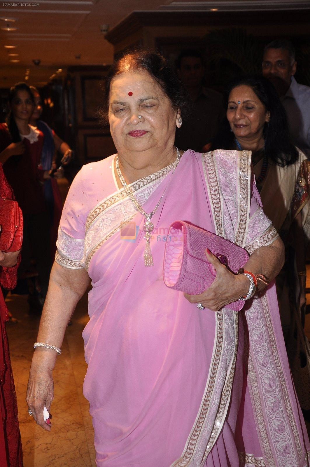 Kokilaben Ambani at Dr Jamuna Pai's book launch in Mumbai on 27th Jan 2015
