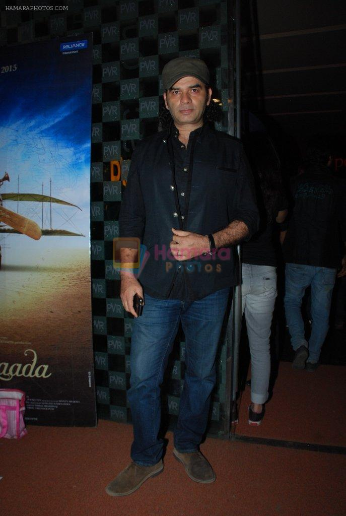 Mohit Chauhan at the Premiere of Hawaizaada in Mumbai on 29th Jan 2015