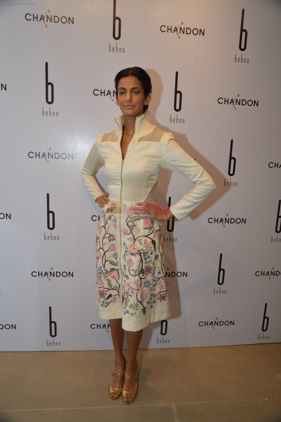 Poorna Jaganatthan at Behno ethical designer label launch in Colaba, Mumbai on 7th Feb 2015