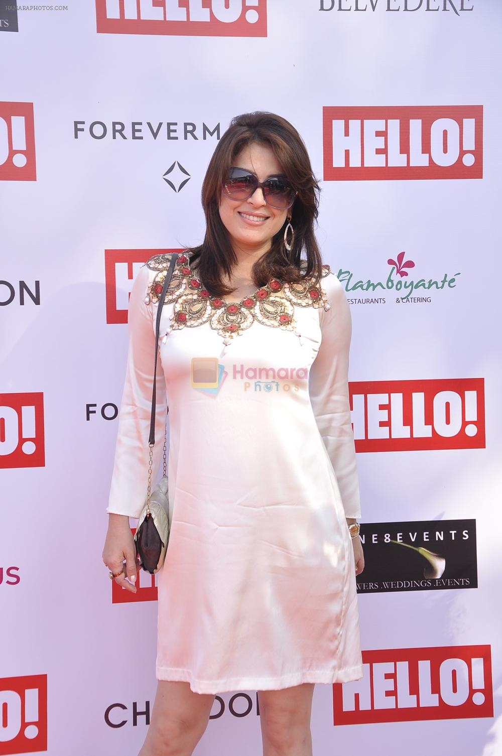 Amrita raichand  at _The Hello Classic Cup in RWITC on 8th Feb 2014