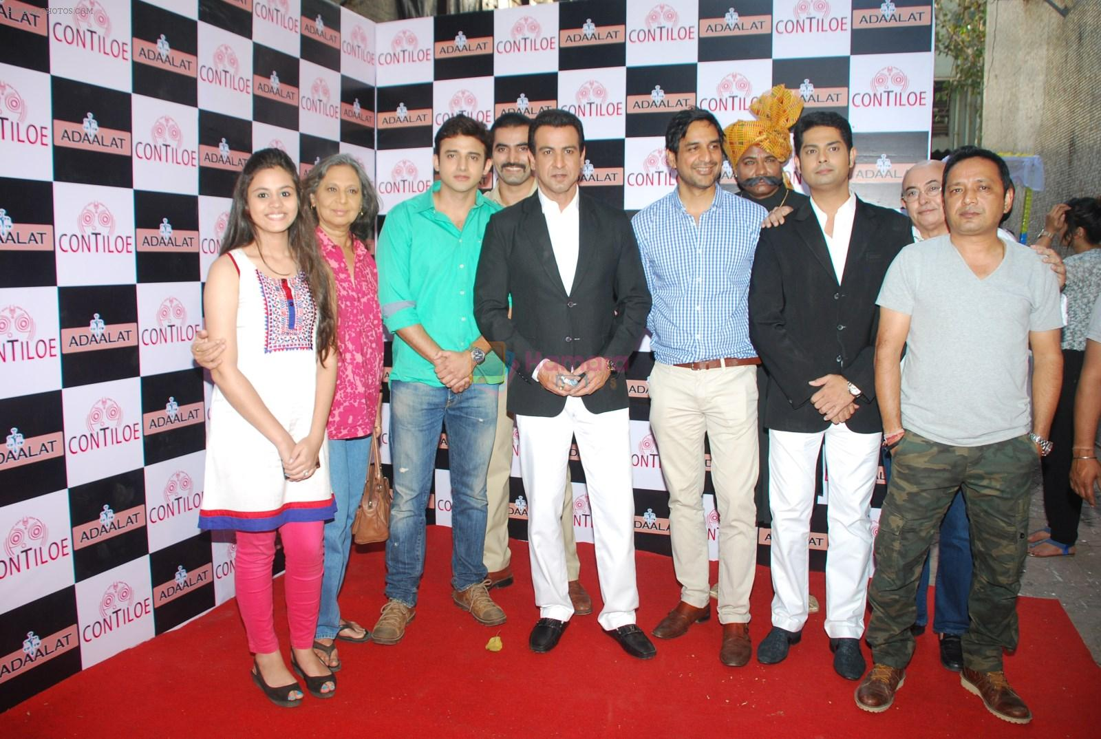 Ronit Roy, Anand Goradia  at Sony TV serial Adaalat's 400 episodes celebration in Malad, Mumbai on 20th Feb 2015