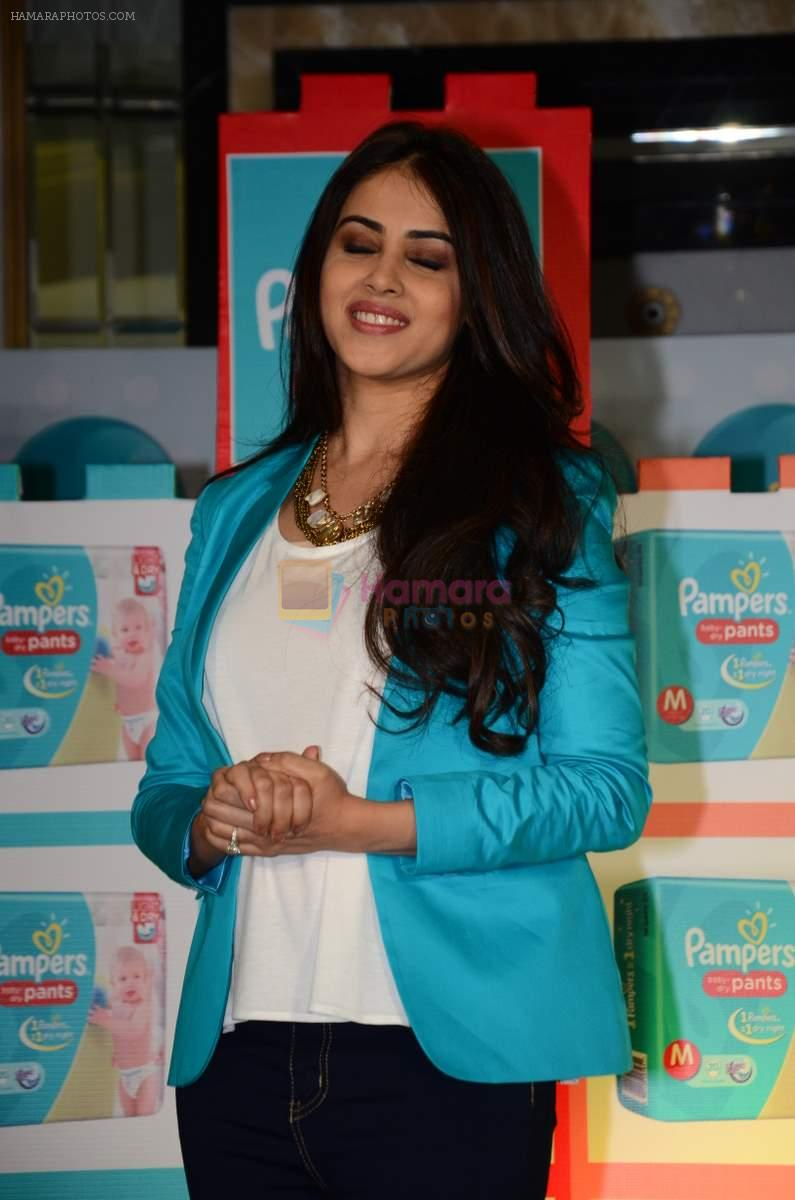 Genelia D'souza at Pampers Press meet in Palladium on 24th Feb 2015