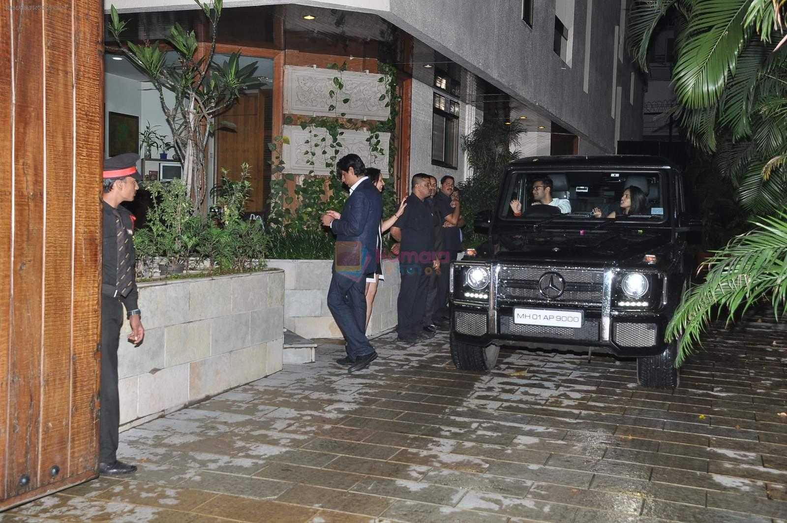 At big b house in celebration of kunal kapoor 39 s upcoming for B house