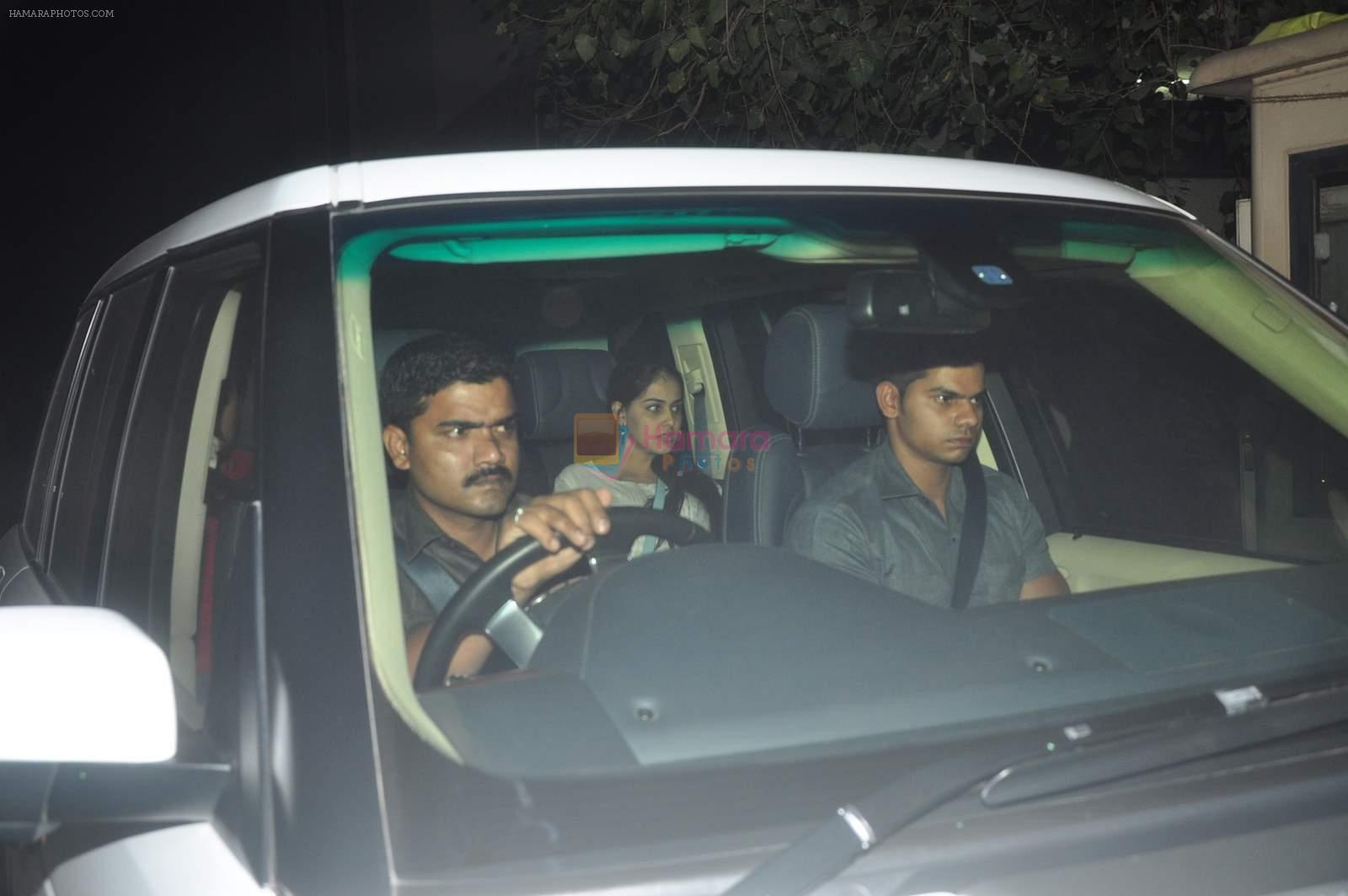 Genelia D Souza at NH10 screening in Yashraj on 11th March 2015