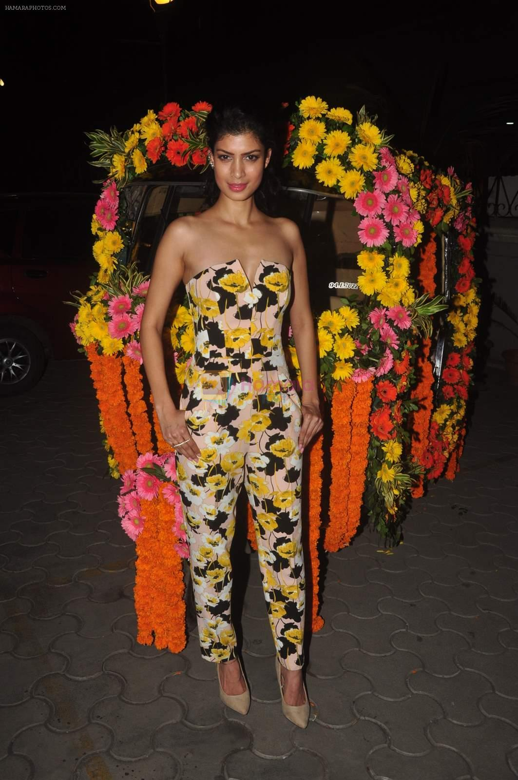 Tena Desae at Second Marigold premiere in Cinemax, Mumbai on 13th March 2015