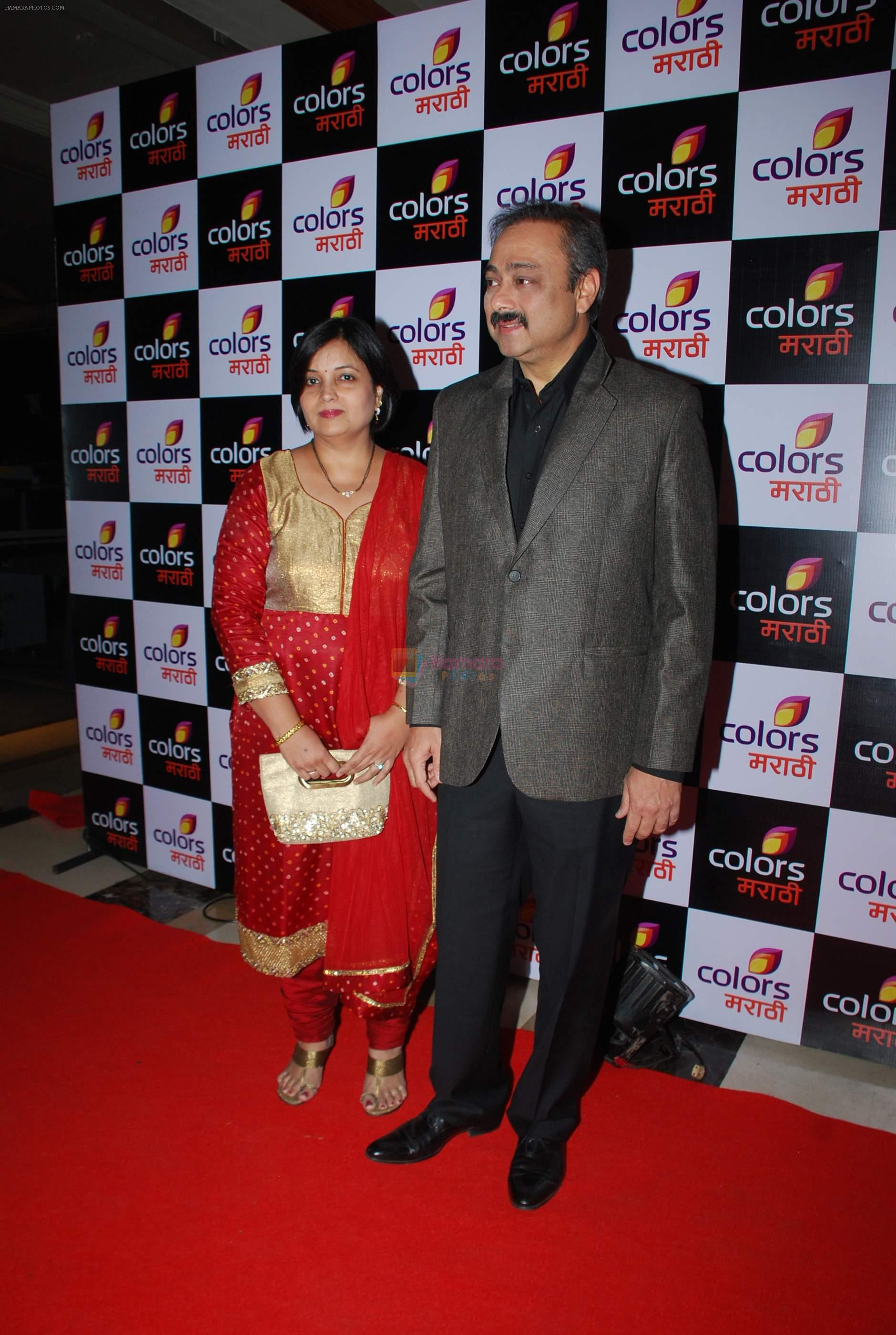 Sachin Khedekar at Colors Marathi launch in J W Marriott, Mumbai on 20th March 2015
