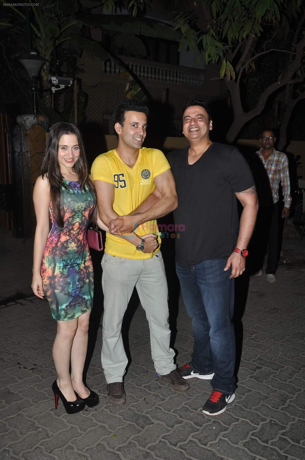 Aamir Ali, Sanjeeda Sheikh at Kareem Morani bday bash in Mumbai on 21st March 2015