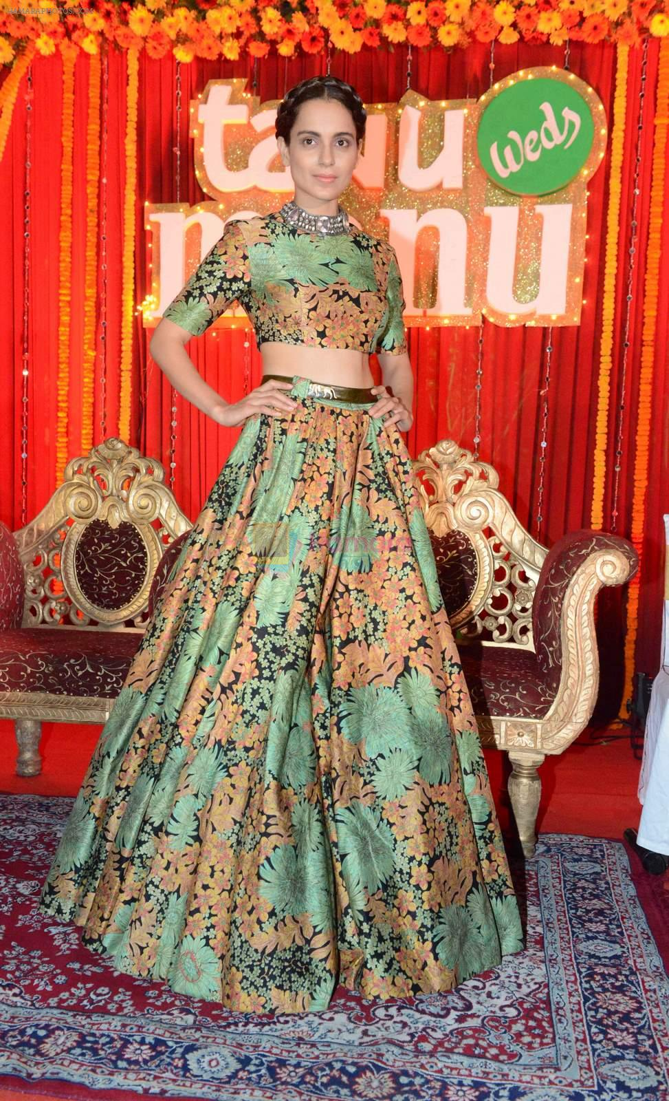 Kangana Ranaut at the press confrence & Poster launch of Flim Tanu Weds Manu Returns at Hotel Dusit Devrana in New Delhi on 23rd March 2015