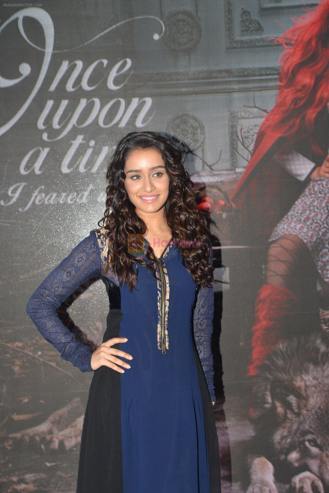 Shraddha Kapoor promote Once Upon A Time at Amazon India Fashion Week on 25th March 2015