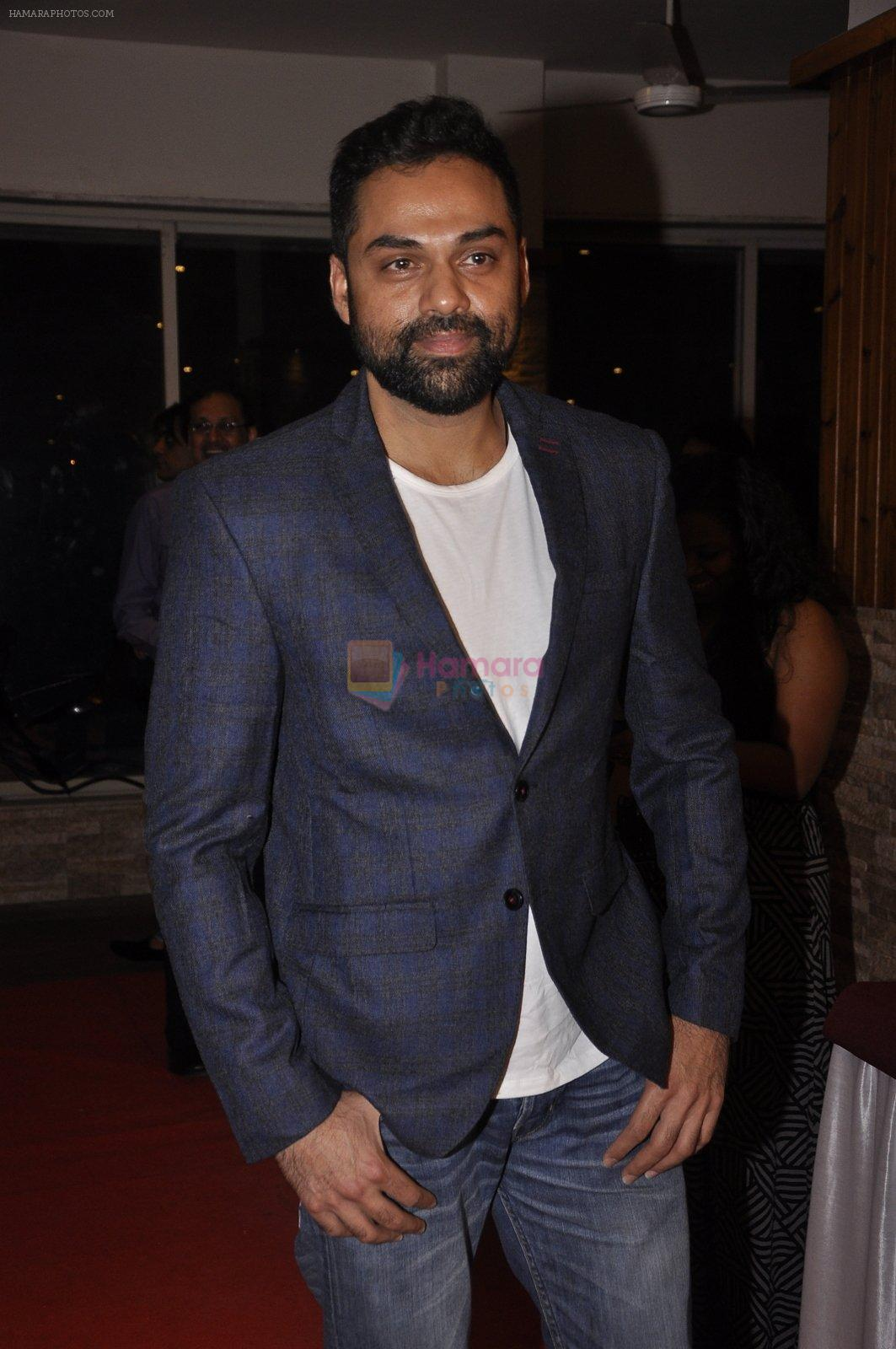 Abhay Deol at Ashley Lobo's Amara Premiere in Mumbai on 26th March 2015