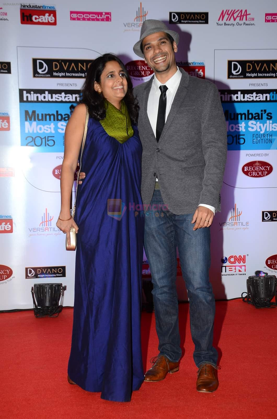 Neil Bhoopalam at HT Mumbai's Most Stylish Awards 2015 in Mumbai on 26th March 2015