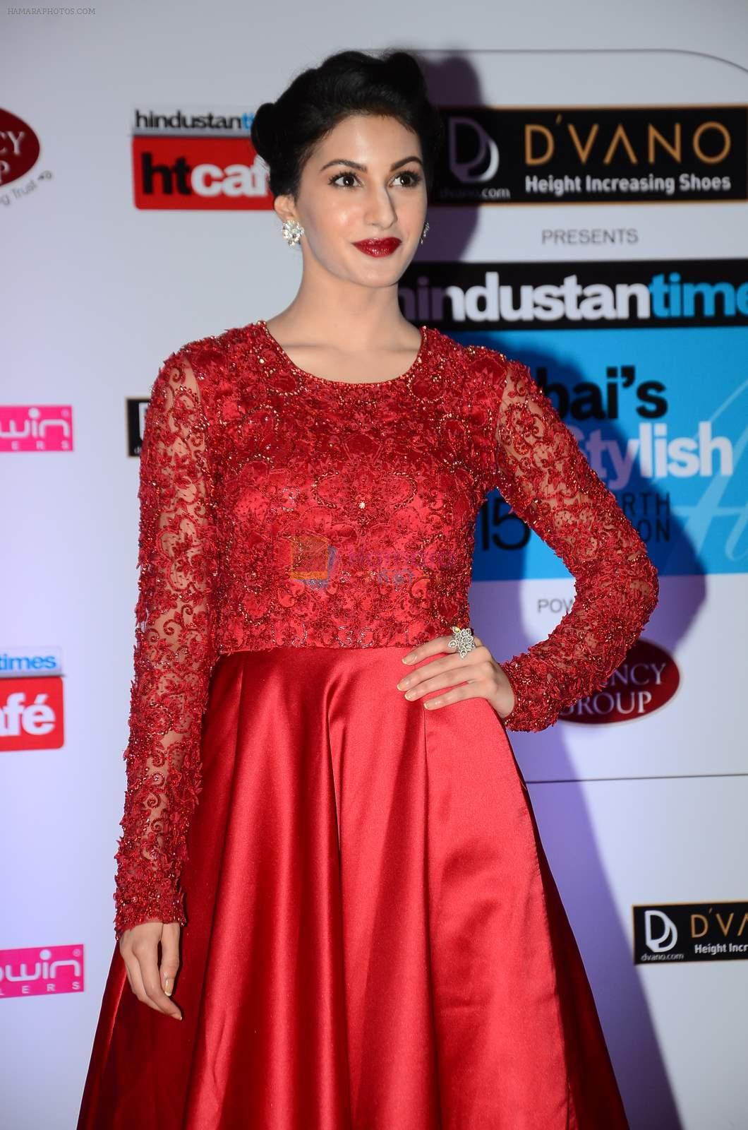 Amyra Dastur at HT Mumbai's Most Stylish Awards 2015 in Mumbai on 26th March 2015