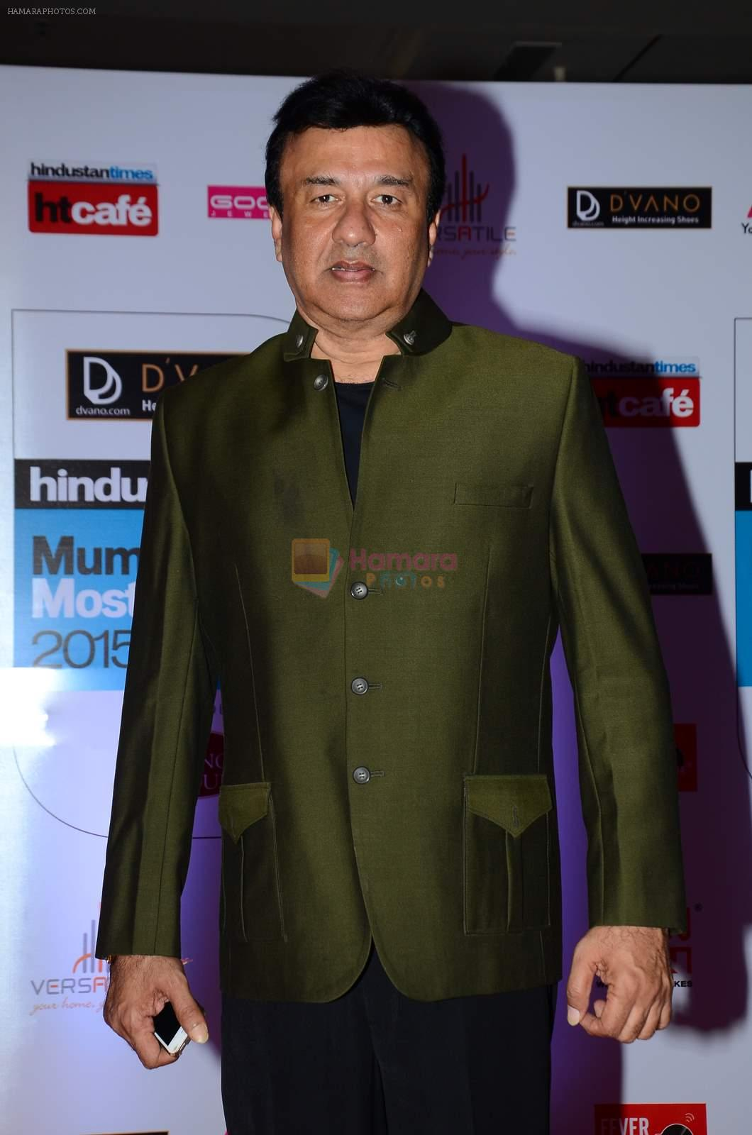 Anu Malik at HT Mumbai's Most Stylish Awards 2015 in Mumbai on 26th March 2015