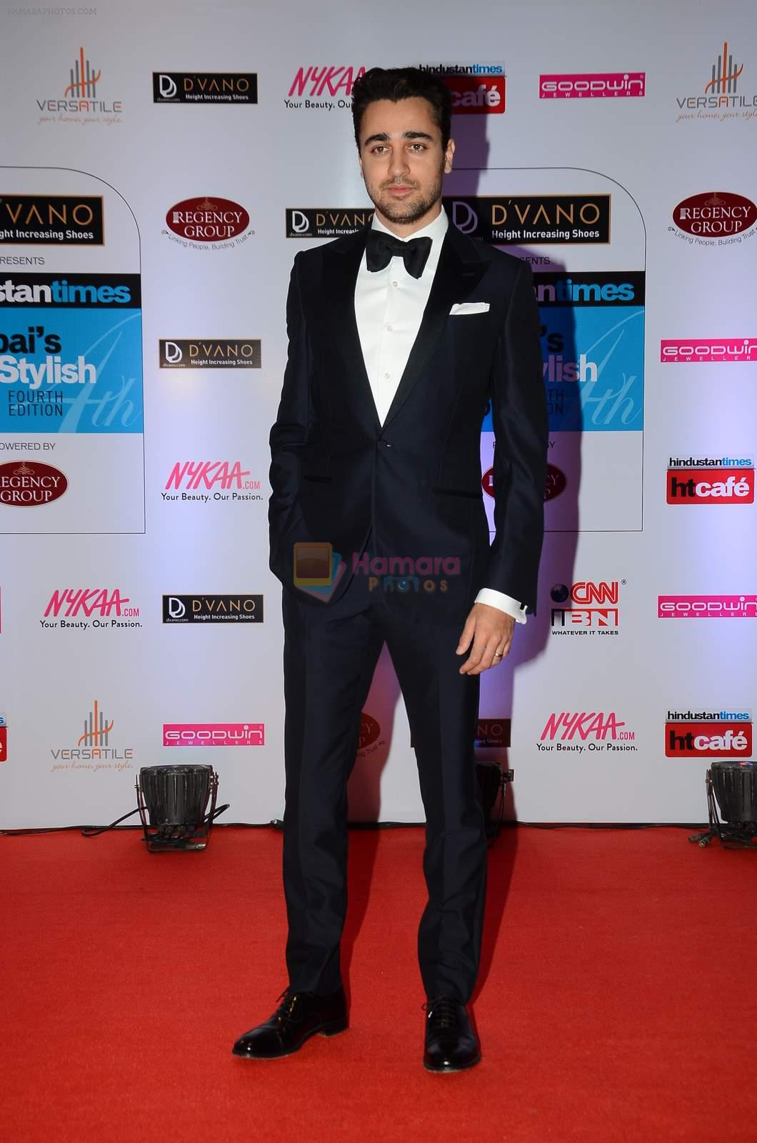 Imran Khan at HT Mumbai's Most Stylish Awards 2015 in Mumbai on 26th March 2015