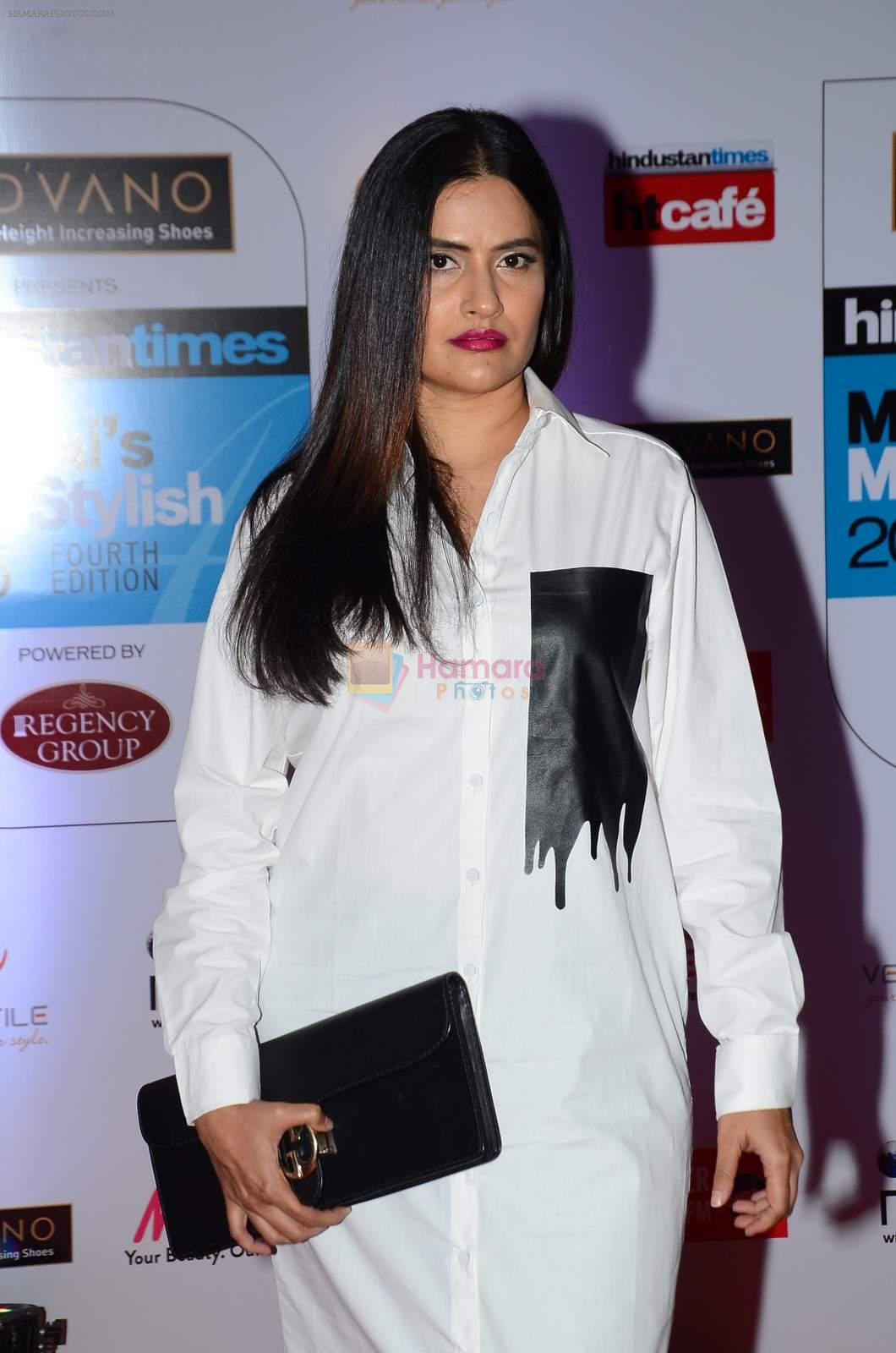 Sona Mohapatra at HT Mumbai's Most Stylish Awards 2015 in Mumbai on 26th March 2015