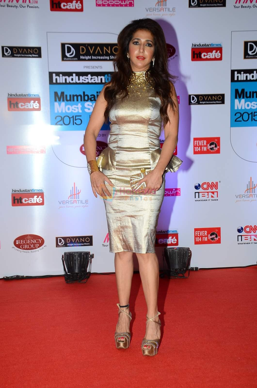 Krishika Lulla at HT Mumbai's Most Stylish Awards 2015 in Mumbai on 26th March 2015