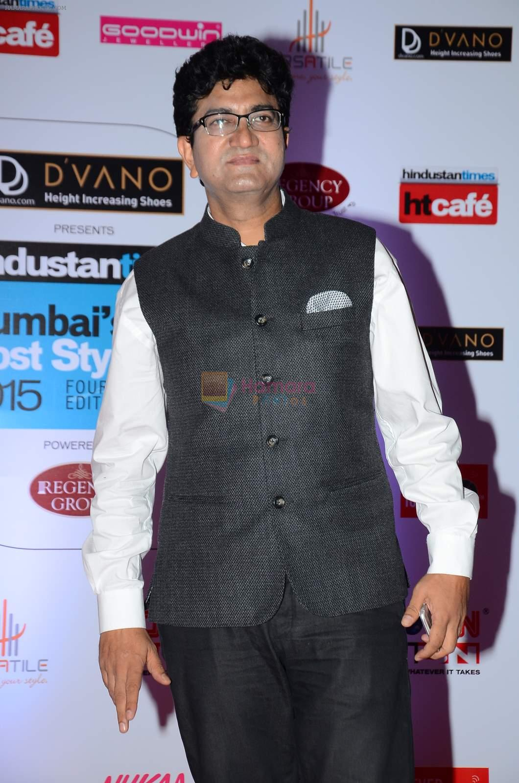 Parsoon Joshi at HT Mumbai's Most Stylish Awards 2015 in Mumbai on 26th March 2015