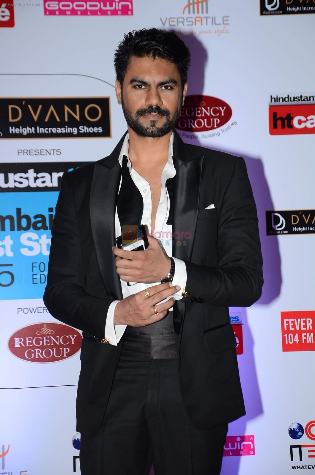 Gaurav Chopra at HT Mumbai's Most Stylish Awards 2015 in Mumbai on 26th March 2015