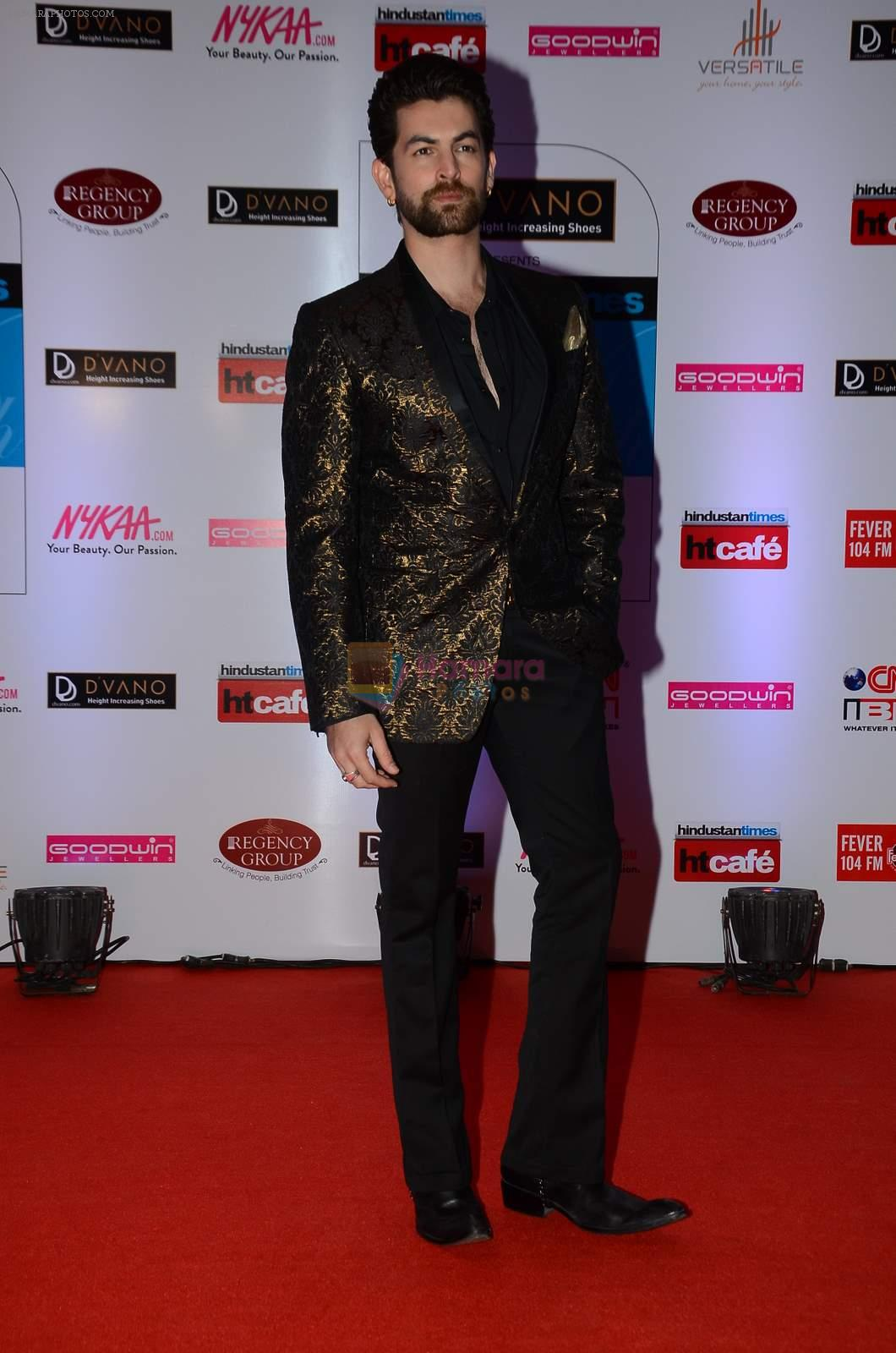 Neil Mukesh at HT Mumbai's Most Stylish Awards 2015 in Mumbai on 26th March 2015