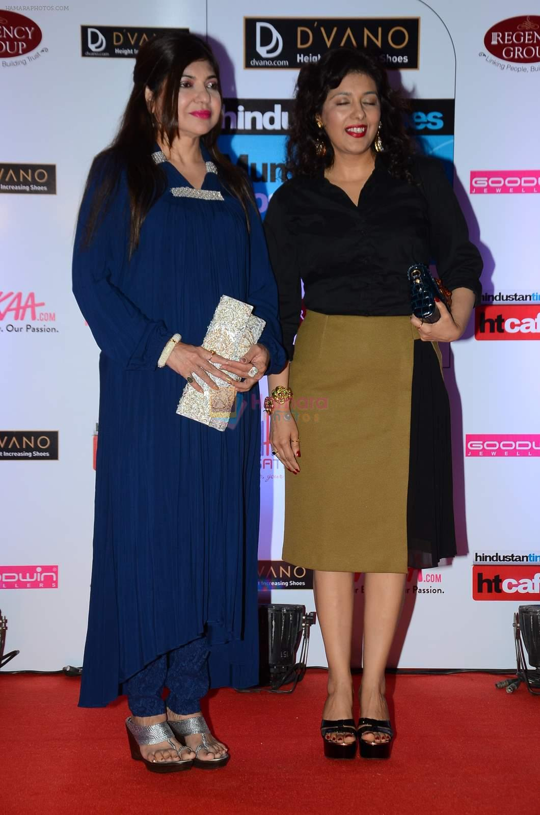 Alka Yagnik at HT Mumbai's Most Stylish Awards 2015 in Mumbai on 26th March 2015