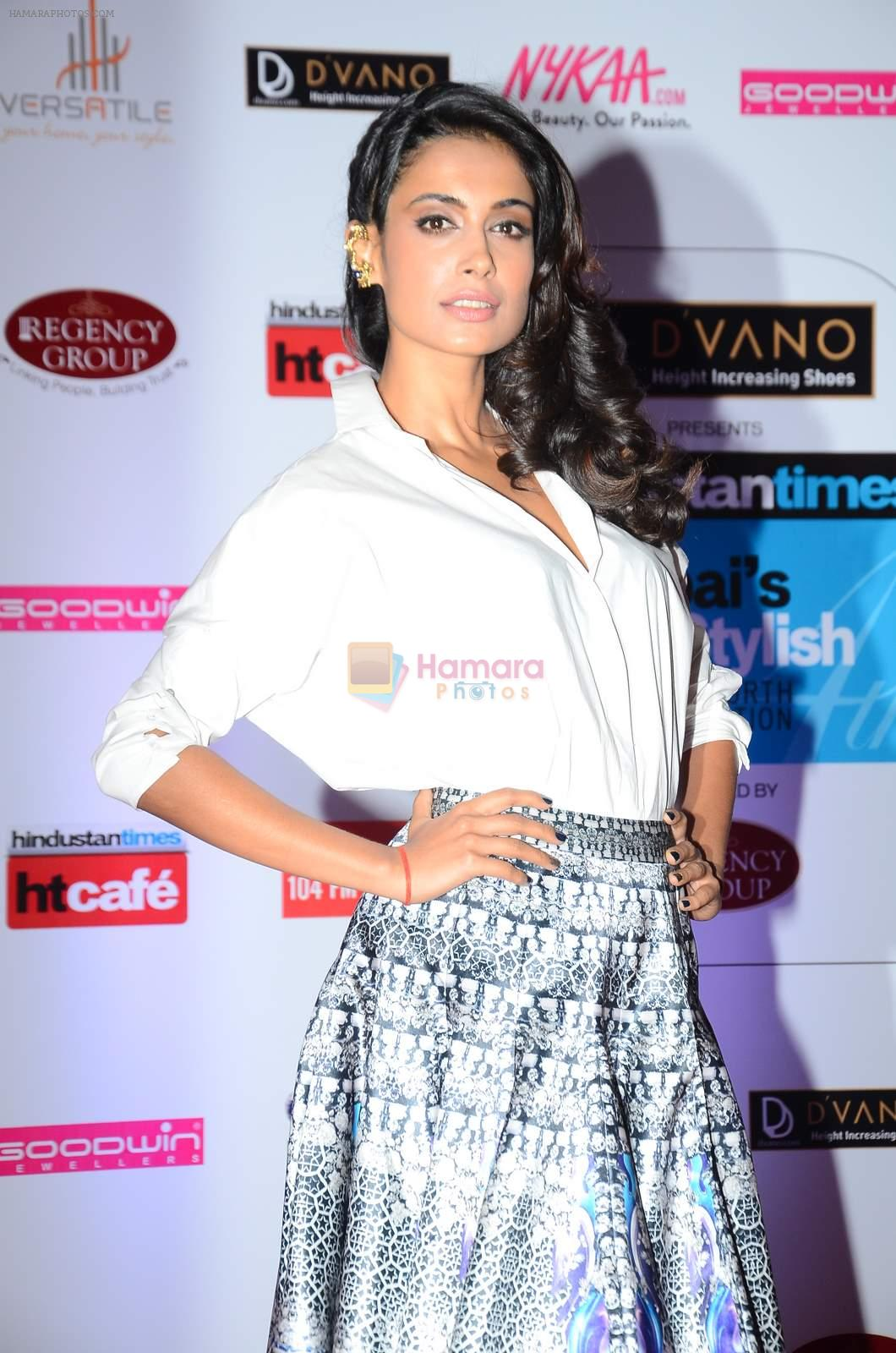 Sarah Jane Dias at HT Mumbai's Most Stylish Awards 2015 in Mumbai on 26th March 2015
