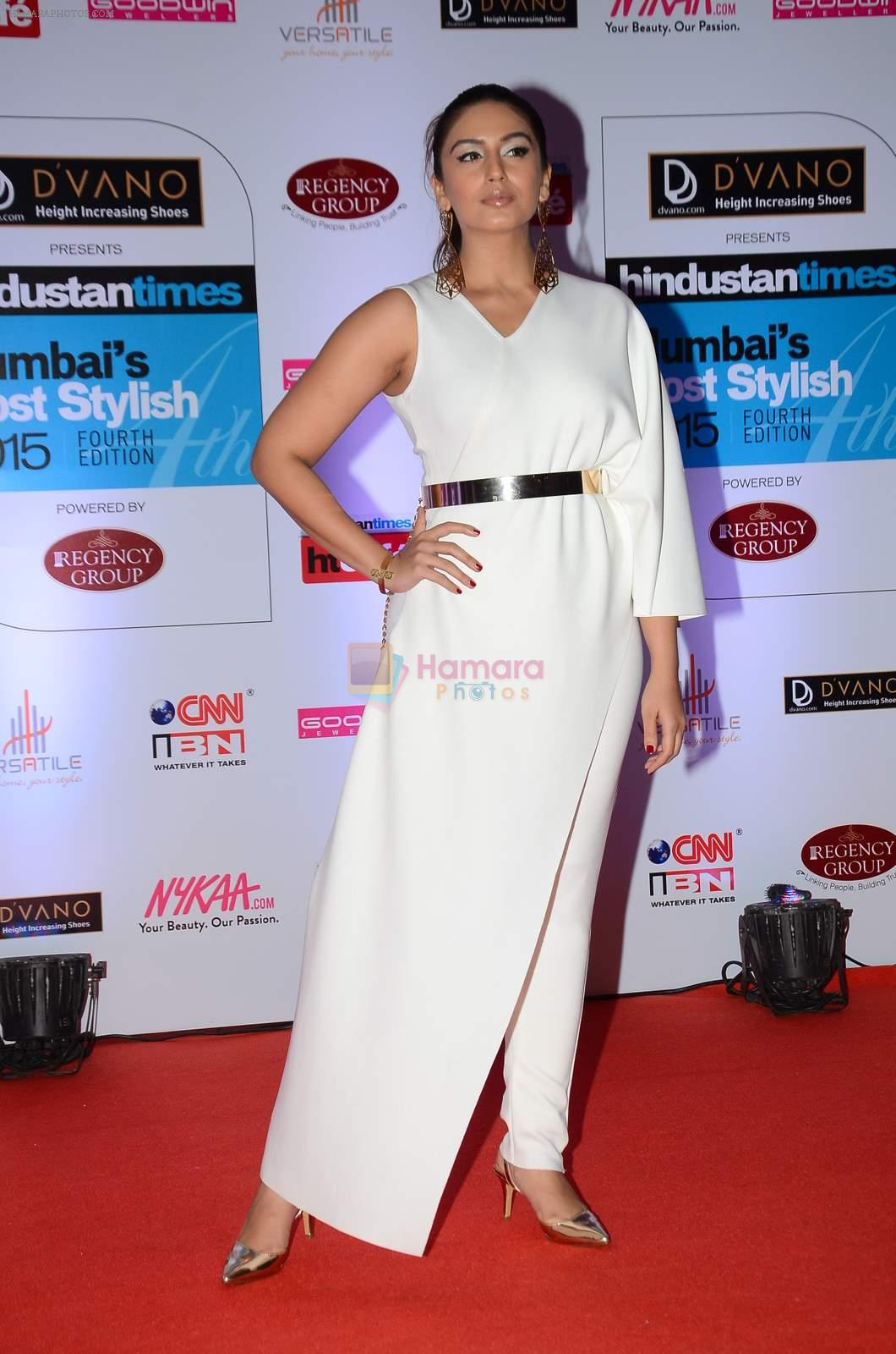 Huma Qureshi at HT Mumbai's Most Stylish Awards 2015 in Mumbai on 26th March 2015