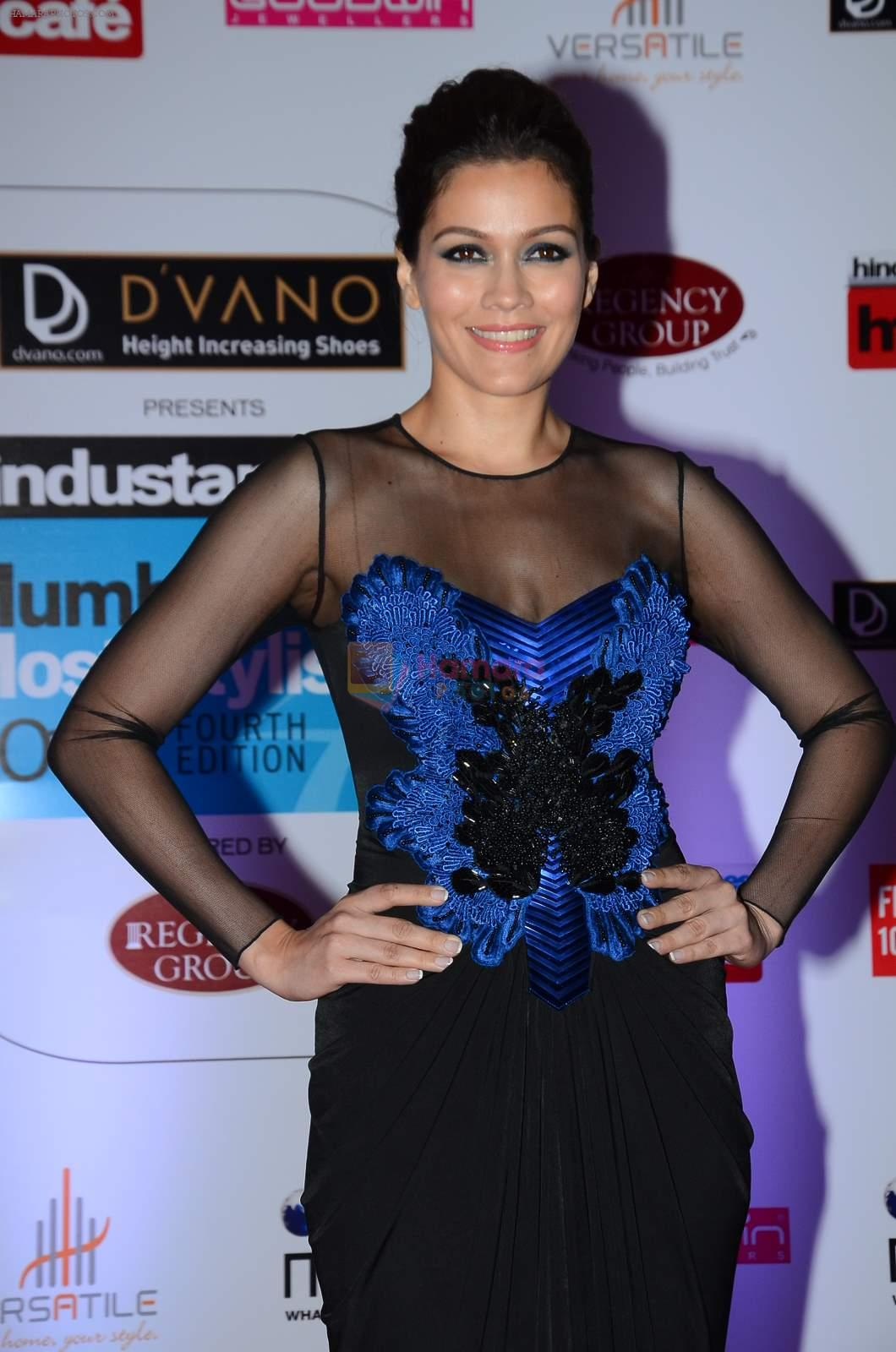 Waluscha D'souza at HT Mumbai's Most Stylish Awards 2015 in Mumbai on 26th March 2015