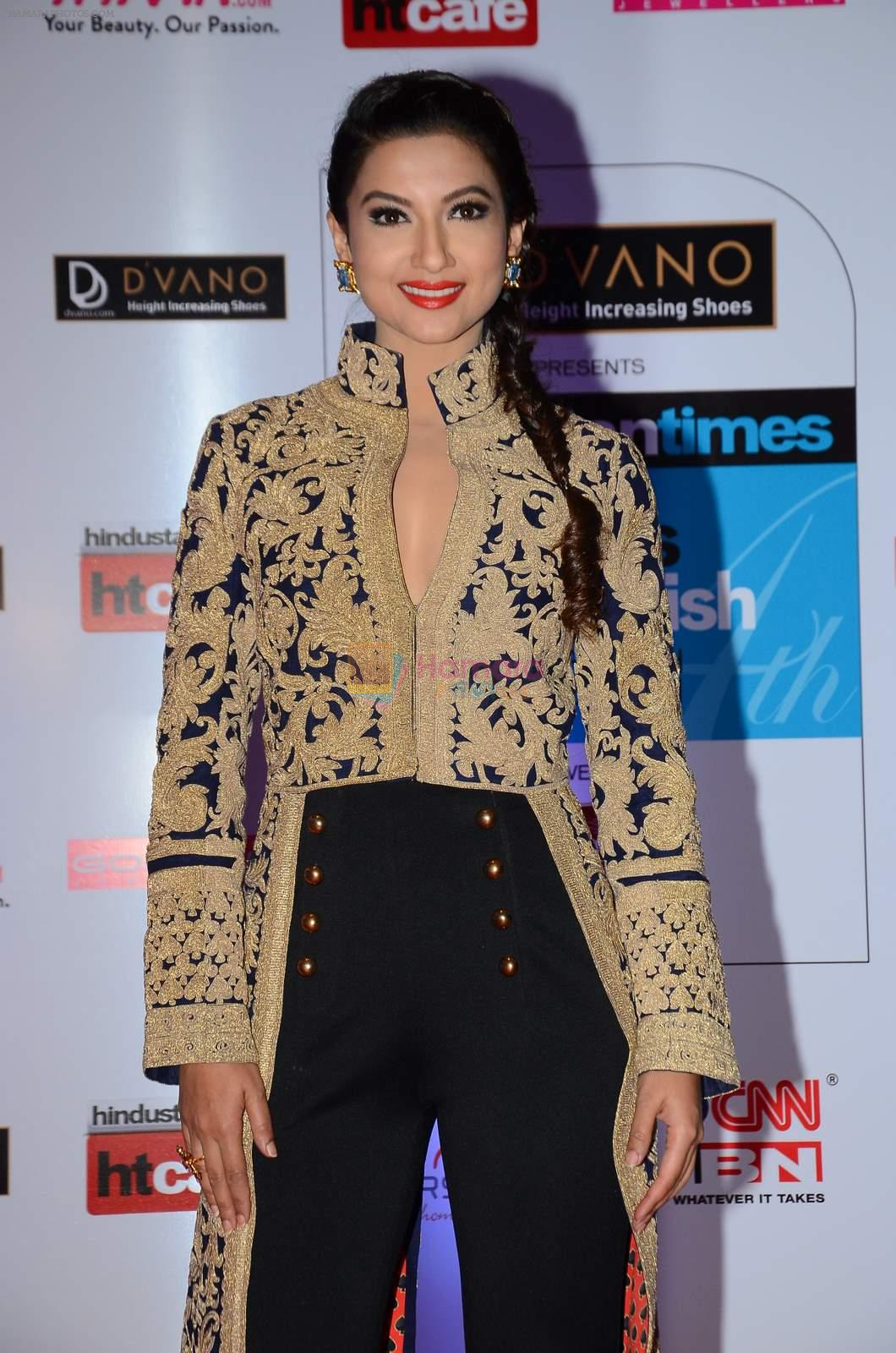 Gauhar Khan at HT Mumbai's Most Stylish Awards 2015 in Mumbai on 26th March 2015