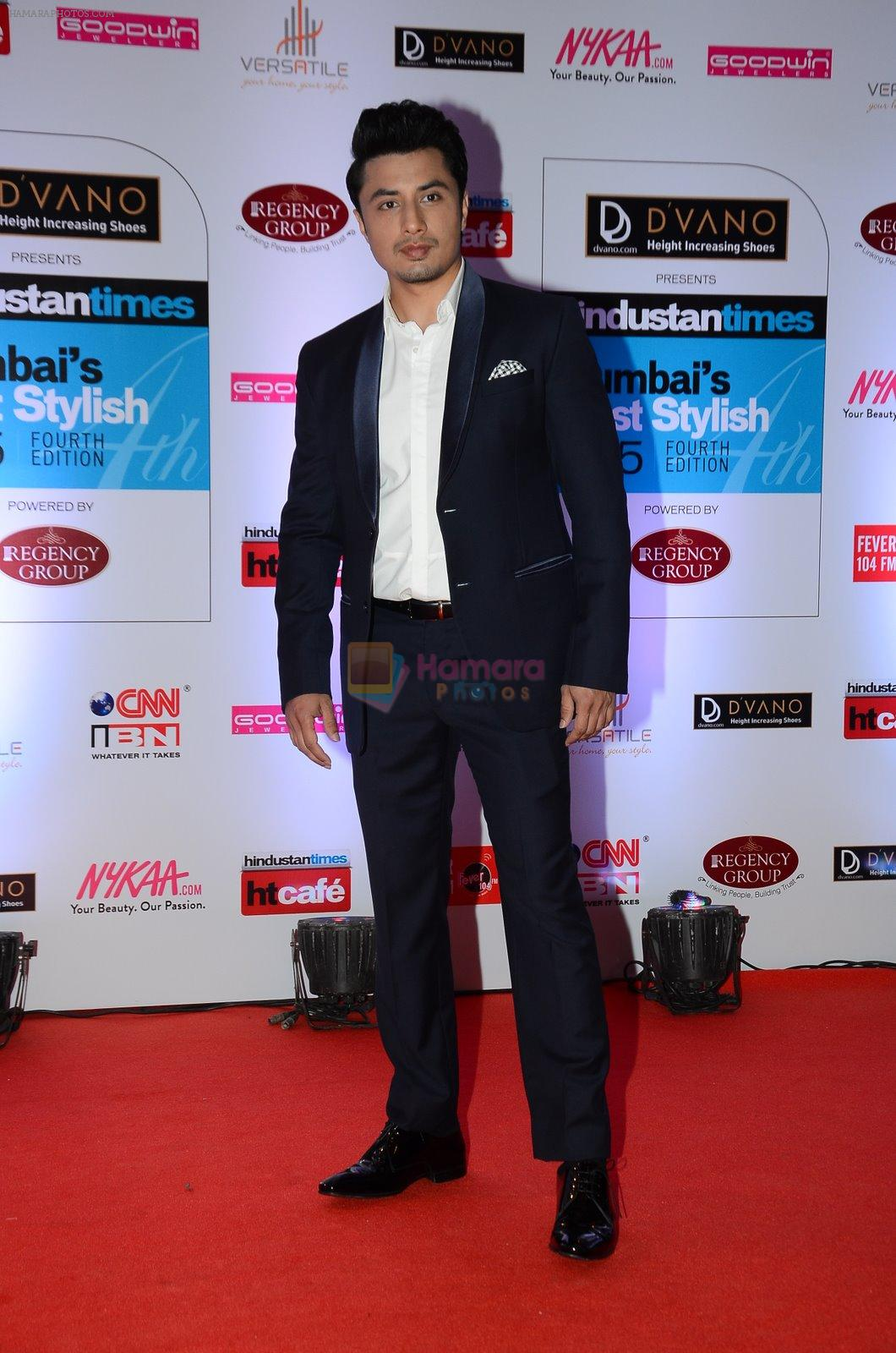 Ali Zafar at HT Mumbai's Most Stylish Awards 2015 in Mumbai on 26th March 2015