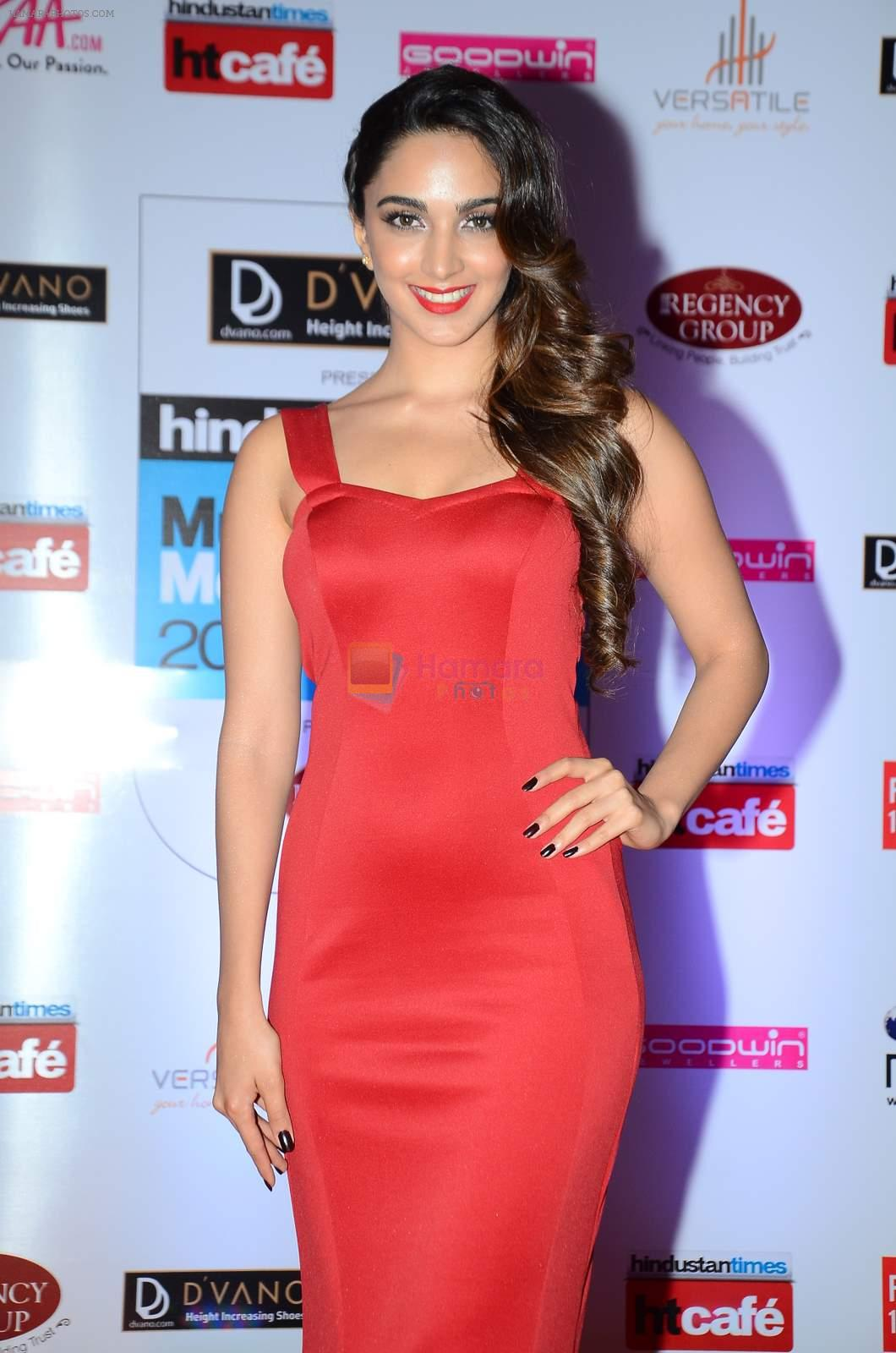 Kiara Advani at HT Mumbai's Most Stylish Awards 2015 in Mumbai on 26th March 2015