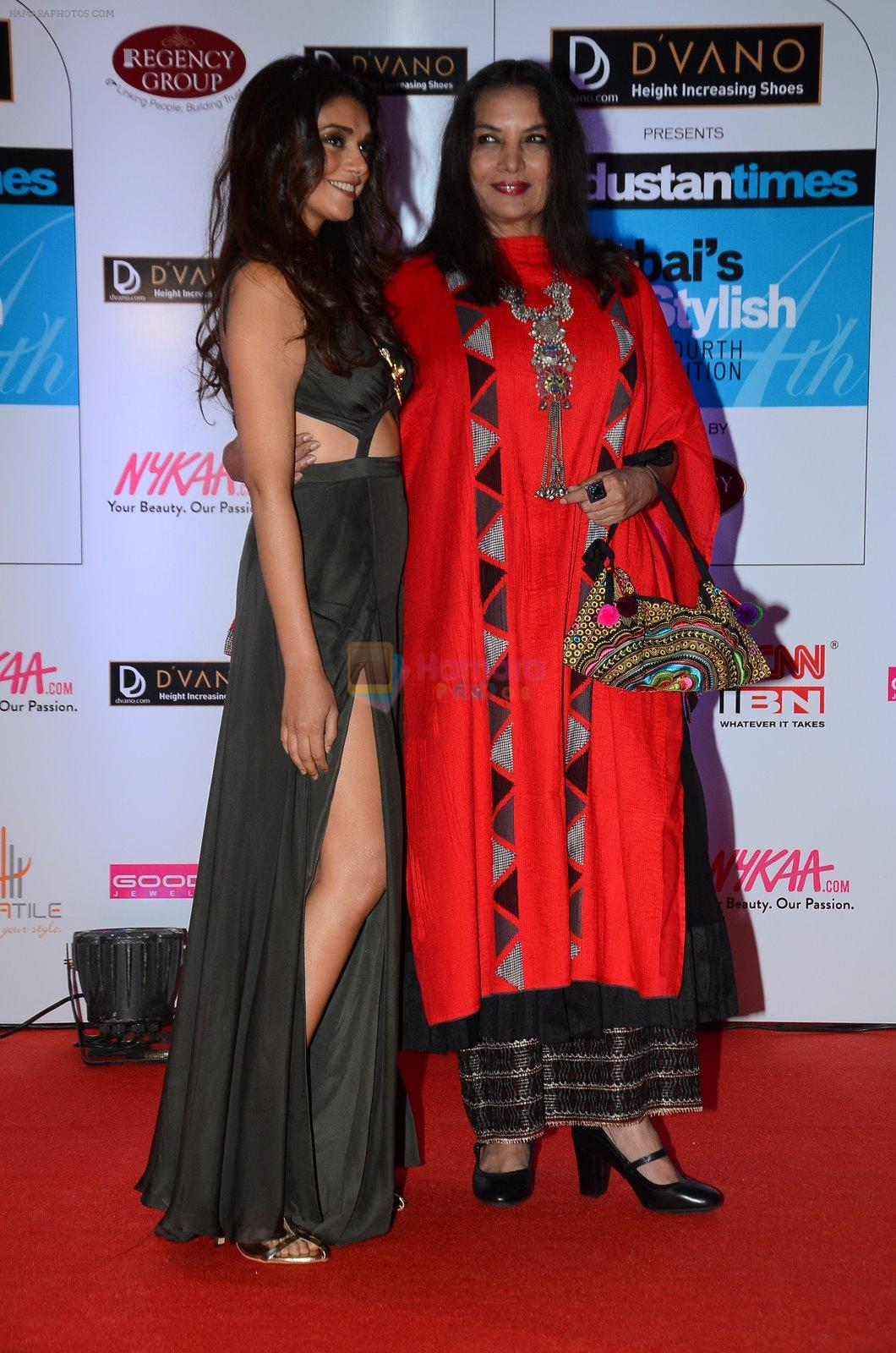 Shabana Azmi at HT Mumbai's Most Stylish Awards 2015 in Mumbai on 26th March 2015