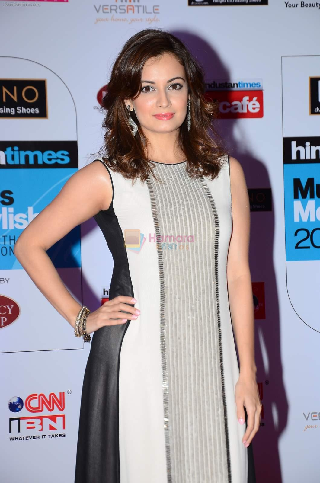 Dia Mirza at HT Mumbai's Most Stylish Awards 2015 in Mumbai on 26th March 2015