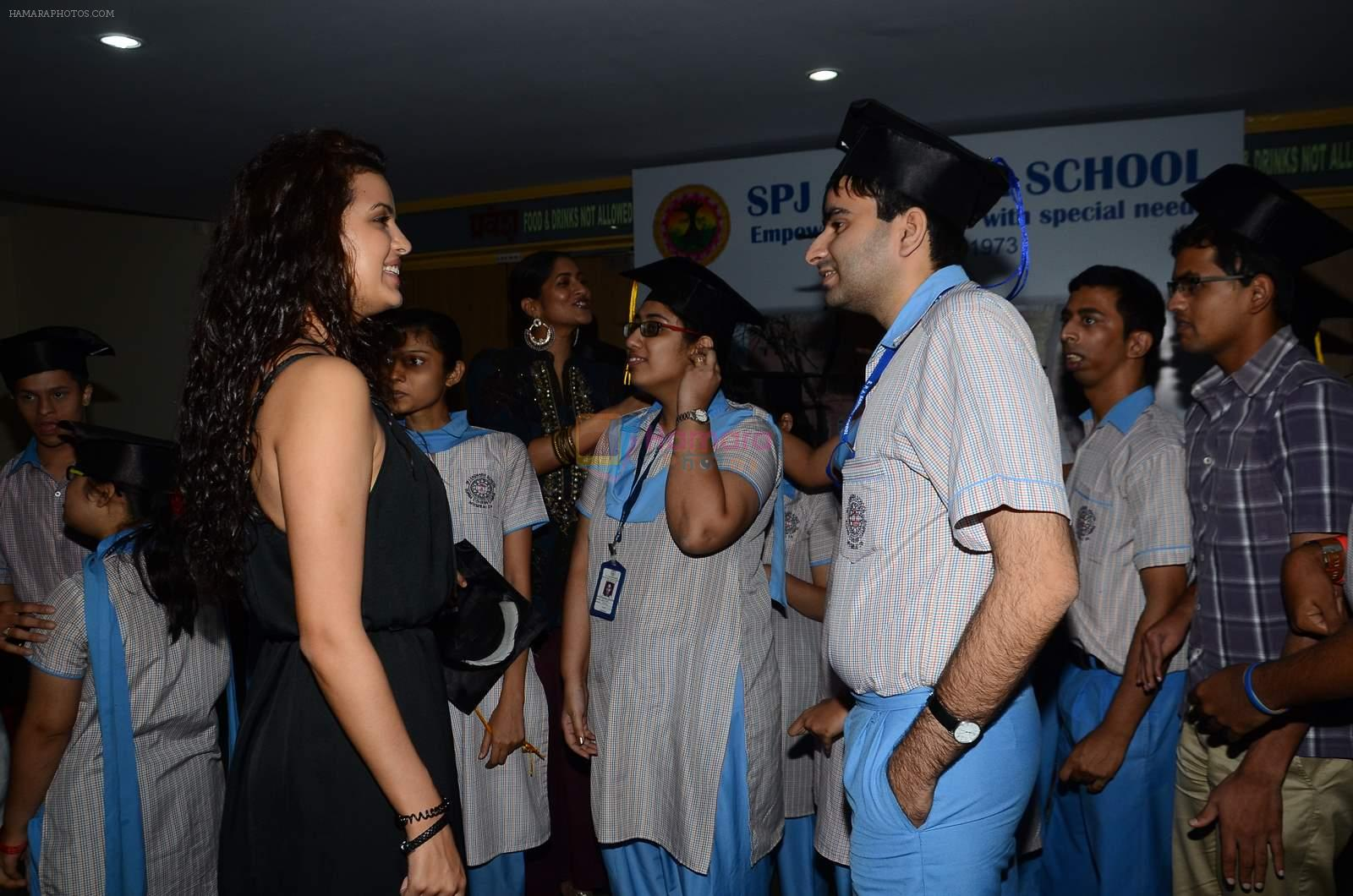 Natasha Stankovic at SPJ Sadhana School for a noble cause on 26th March 2015