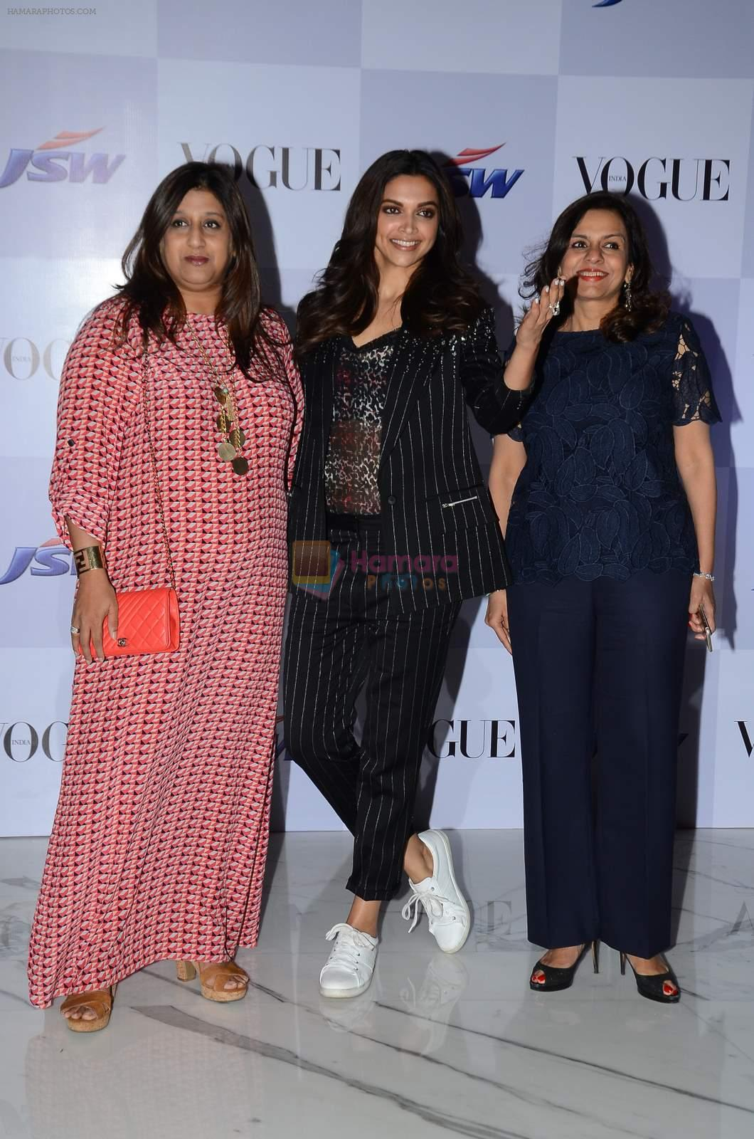 Deepika Padukone at My Choice film by Vogue in Bandra, Mumbai on 28th March 2015