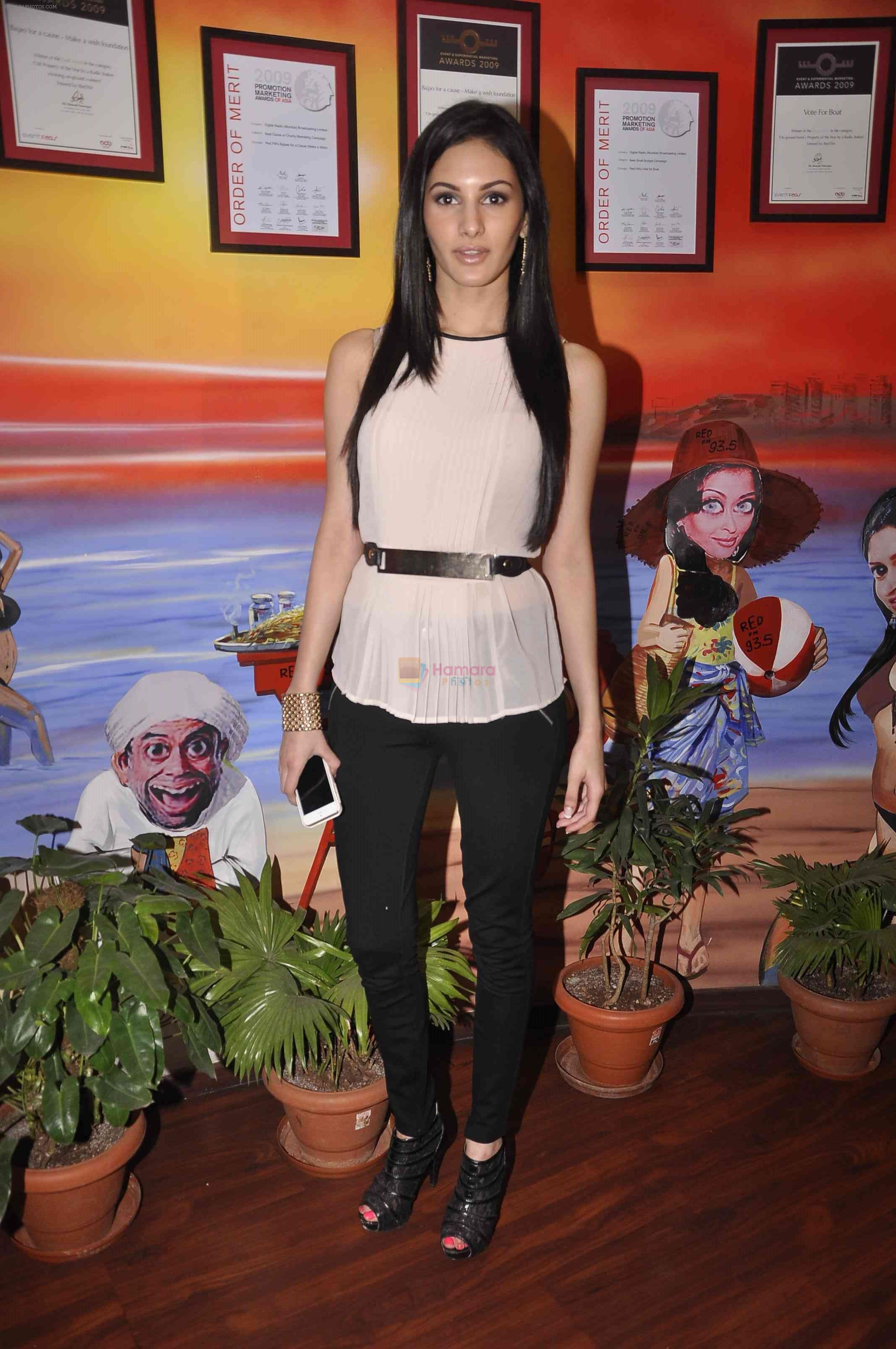 Amyra Dastur at red fm station in Mumbai on 31st March 2015
