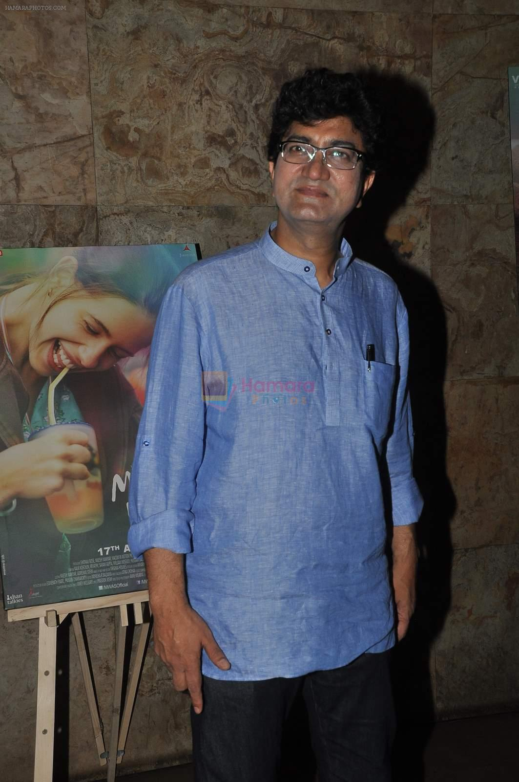 Parsoon Joshi at Margarita with a straw screening in Lightbox, Mumbai on 8th April 2015