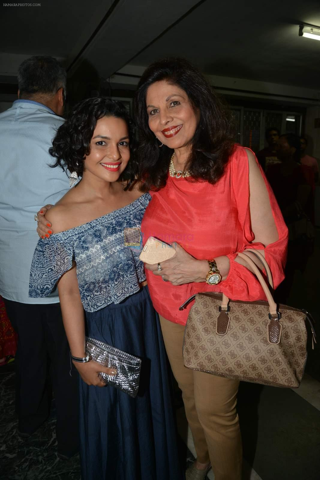 Chitrashi Rawat at Munisha Khatwani's debut play as producer premiere in Mumbai on 31st May 2015