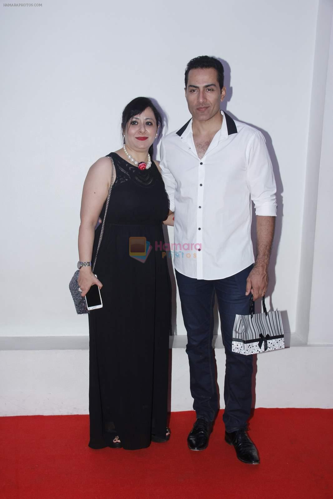 Sudhanshu Pandey at Madhavan's birthday bash in Mumbai on 1st June 2015