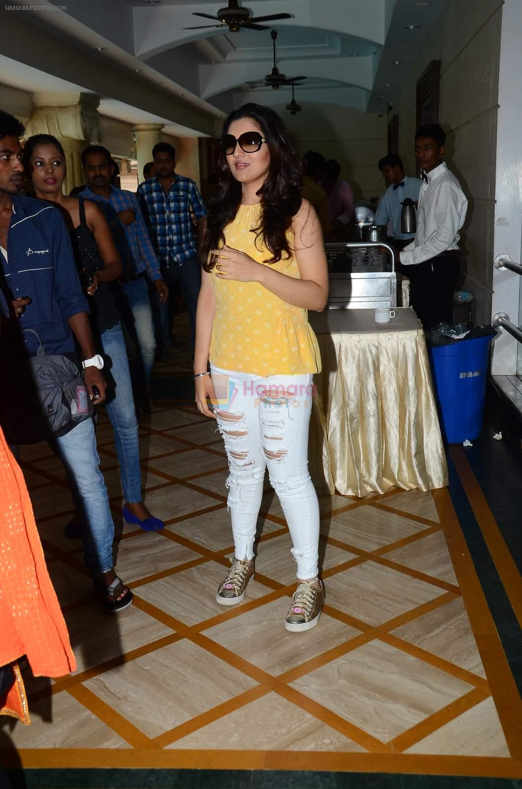 Tina Ahuja at Second Hand Husband interviews in Raheja Classique on 16th June 2015