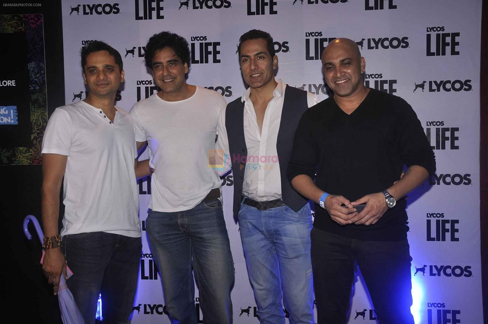 Sudhanshu Pandey at Lycos Life Product presents Band From TV� Live In India in Blu Frog on 16th June 2015
