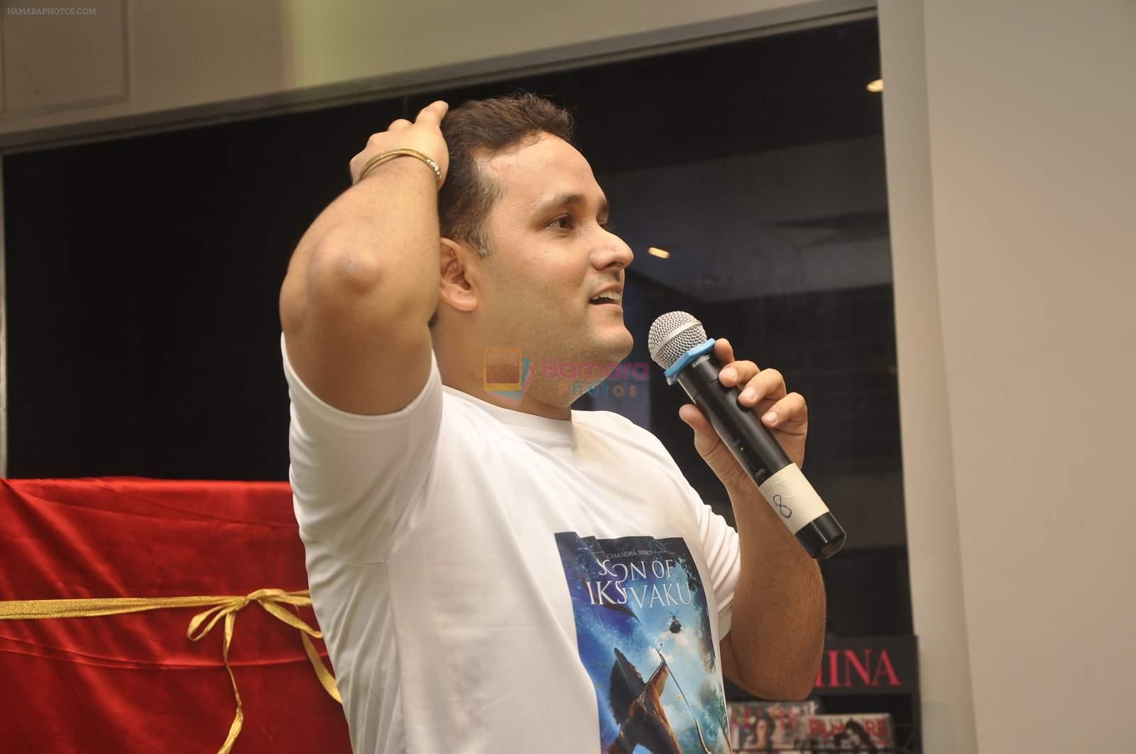 Amish Tripathi's book Scion of Ikshvaku launch in crossword on 22nd June 2015
