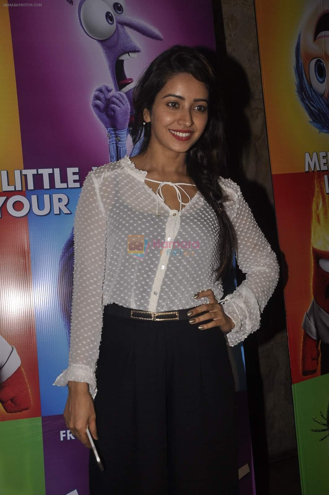 Asha Negi at the Special screening of Inside Out in Mumbai on 25th June 2015