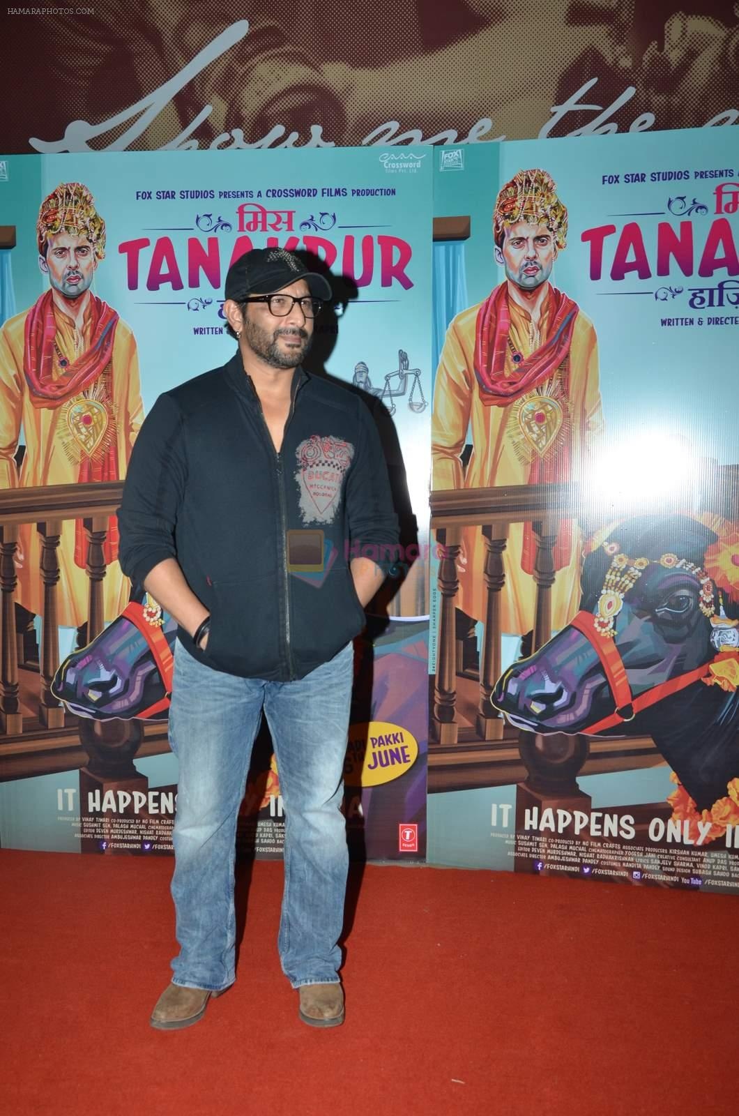 Arshad Warsi at Miss Tanakpur premiere in Mumbai on 25th June 2015