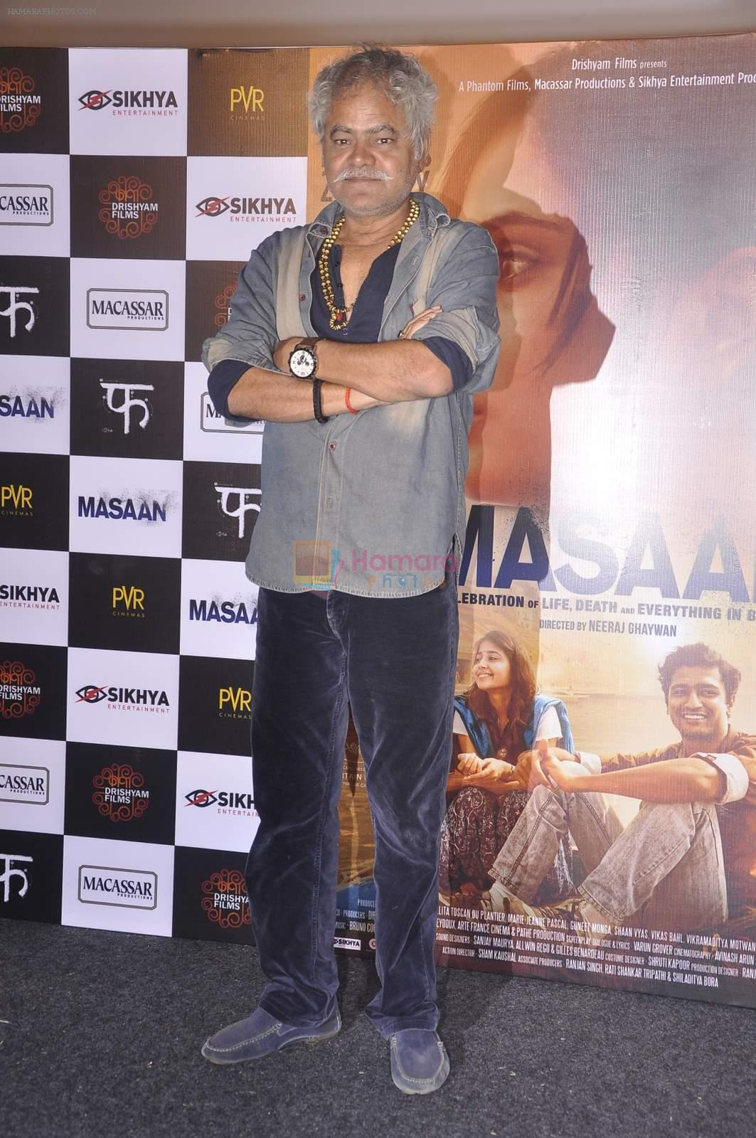 Sanjay Mishra at Masan trilor launch in Mumbai on 26th June 2015