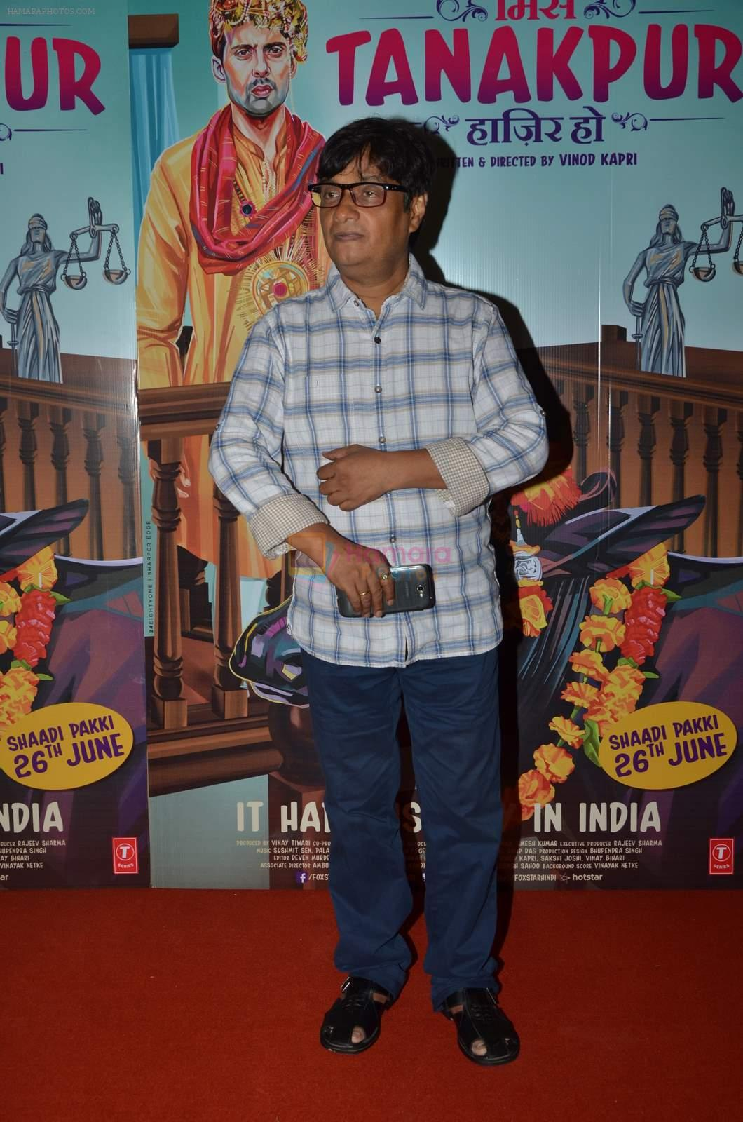 at Miss Tanakpur premiere in Mumbai on 25th June 2015