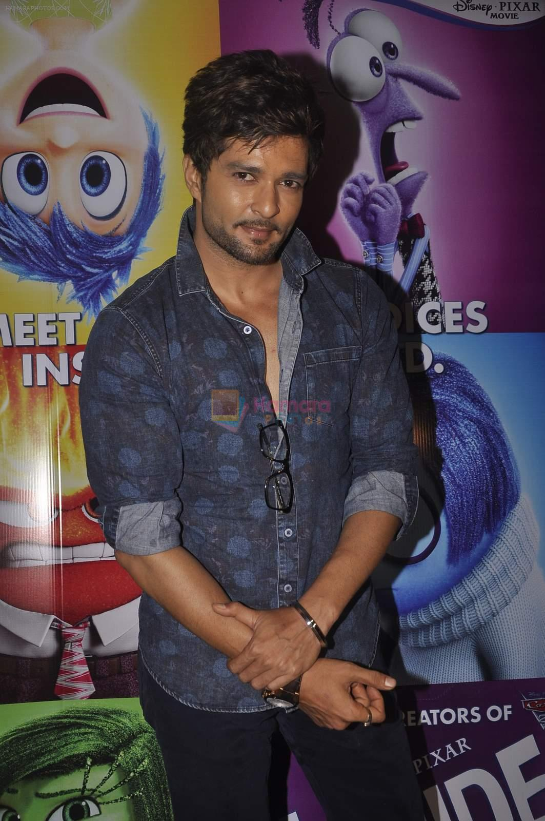 Raqesh Vashisth at the Special screening of Inside Out in Mumbai on 25th June 2015