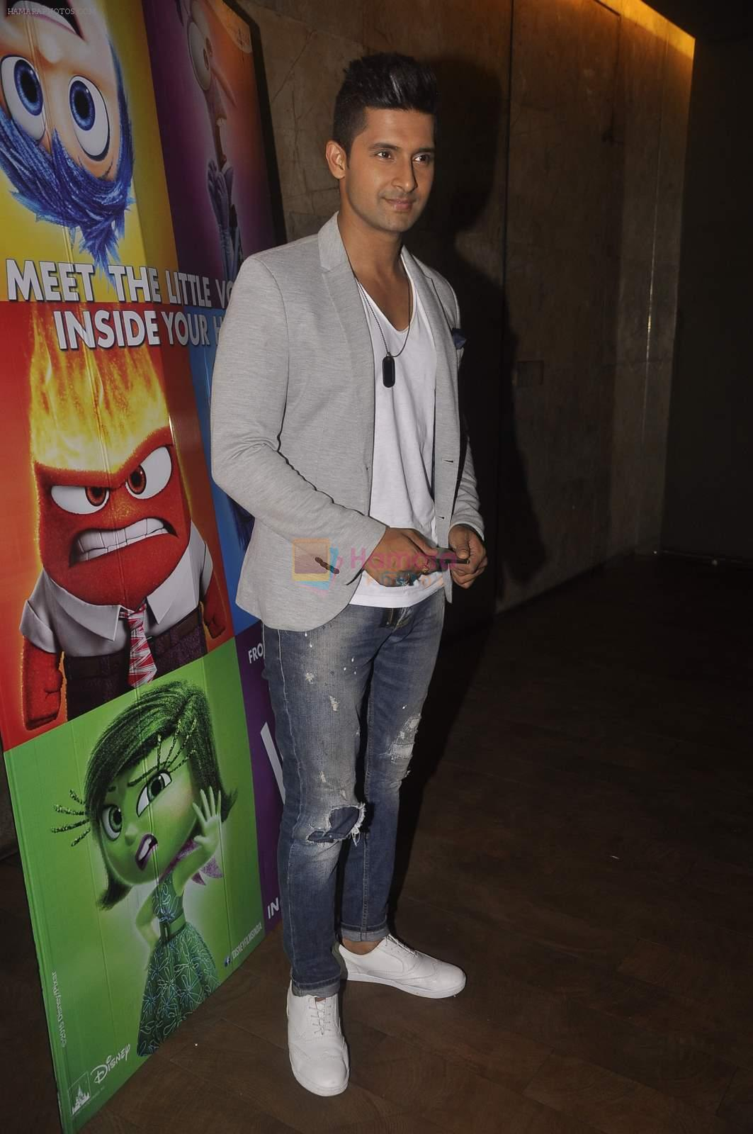 Ravi Dubey at the Special screening of Inside Out in Mumbai on 25th June 2015