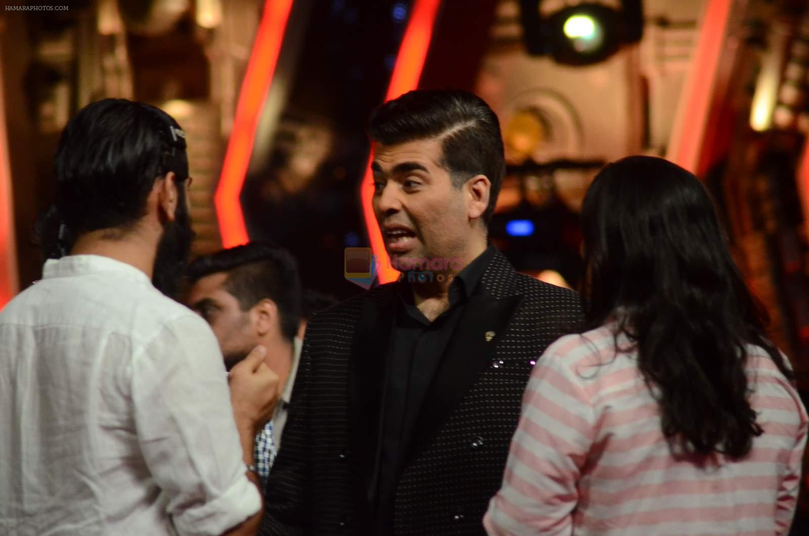 Karan Johar at IGT grand finale in Filmcity, Mumbai on 27th June 2015
