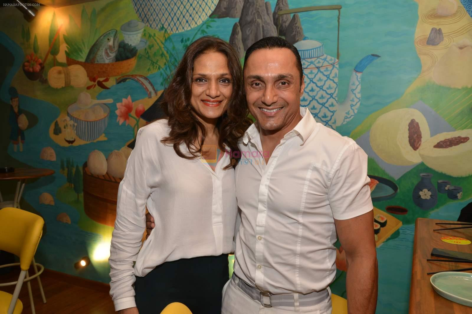 Rahul Bose at Fatty Bow restaurant launch in Bandra, Mumbai on 27th June 2015